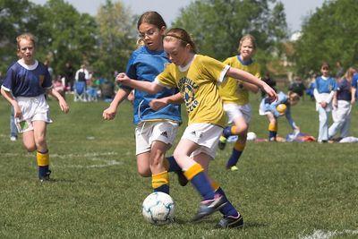4th Grade Soccer May 14, 2005