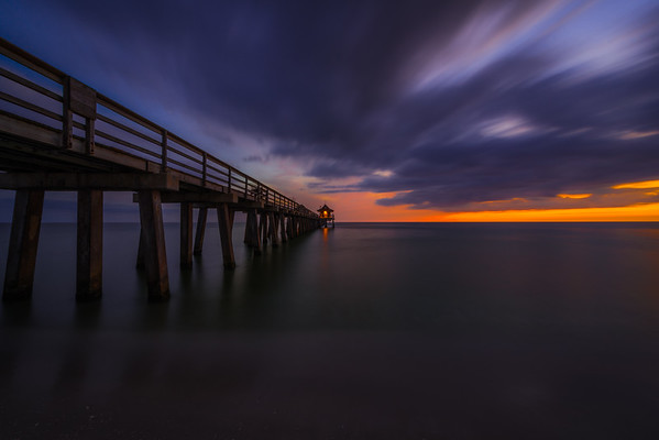 Fine art photo of Naples pier Florida
