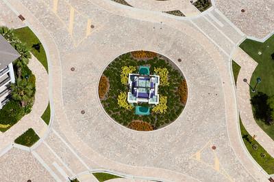 Naples Square Aerial 1