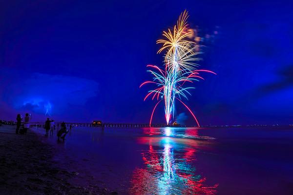 Fireworks 2015 Naples, Florida