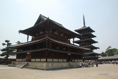 Kondo in Horyuji Temple