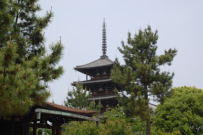 Goju-no-To in Horyuji Temple