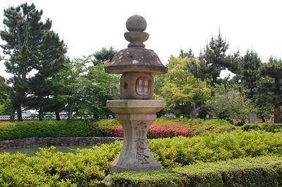 Horyuji Temple gardens