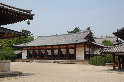 Daikodo in Horyuji Temple