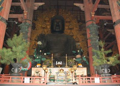 Daibutsu (Great Buddha), a 16 m high bronze statue