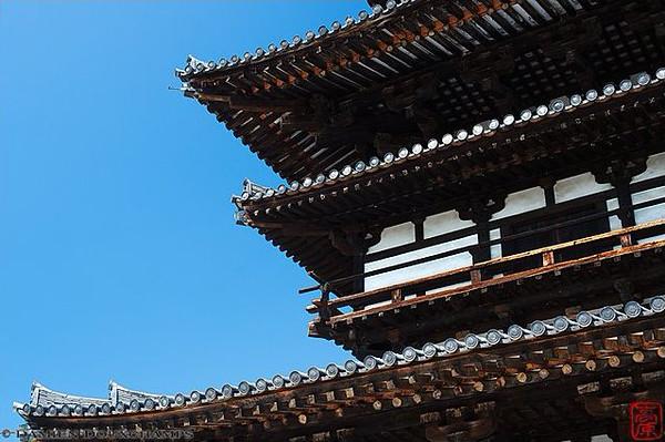 Yakushi-ji temple, Nara - image copyright Damien Douxchamps