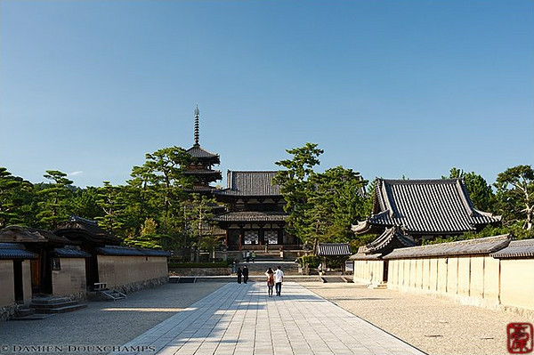 Horyu-ji Temple image copyright Damien Douxchamps