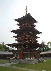 West pagoda in Yakushiji Temple