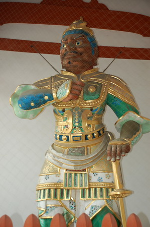 Ungyo, one of the Nio protectors in Yakushiji Temple