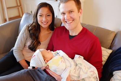 Uncle Bob and Kristina visit