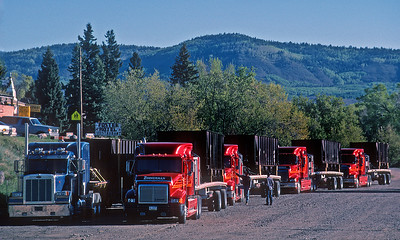 The summer of 2000 saw the arrival of six narrow gauge coal hopper cars purchased from the EBT railroad in Pennsylvania to carry ballast for the C&TS.