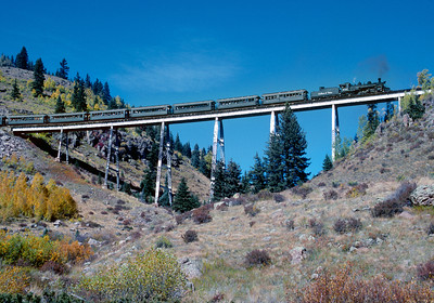 September 1999.  Cascade trestle.