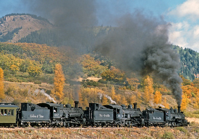 October 2000.  And 2000 was I think the last year that three engine fall color trains were run.