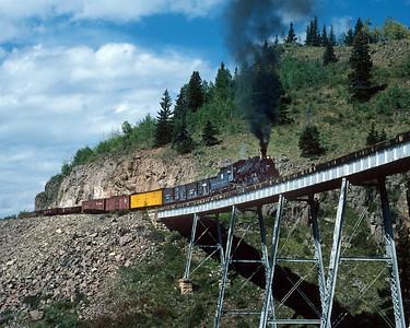 November 13, 1986.  Cascade trestle.