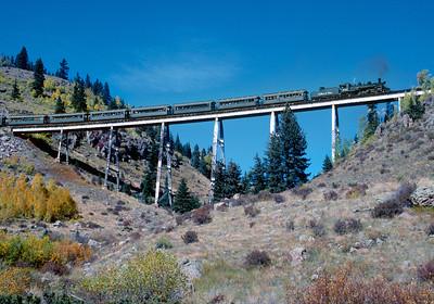 September 1999.  Cascade trestle.