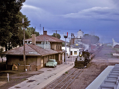August 29, 1967.  Eastbound at La Jara.