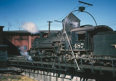 September 1964.  Alamosa turntable.