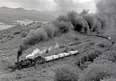 July 1964.  Approaching Cresco.