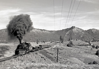 September 1964. The climb out of Willow Creek.