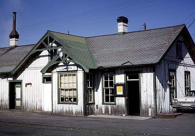 July 1963. Chama depot.
