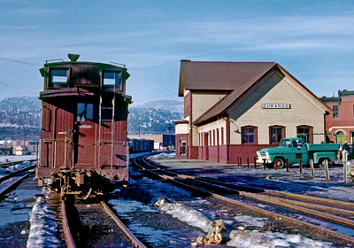 January 1960.  Durango.  My first visit to the DRGW narrow gauge.  This is very likely one of my very first pictures of the narrow gauge.