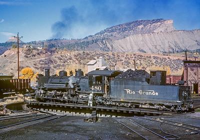 October 1962.  Durango.
