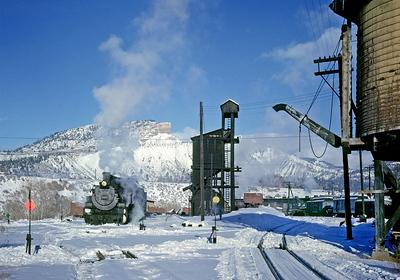 December 1961.  Durango.