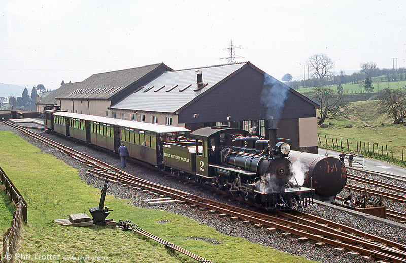 Baldwin Pacific no. 2 at Pant on 26th March 2005.