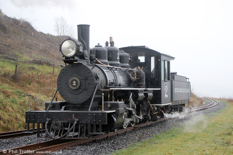 BMR Baldwin 4-6-2 no.2 at Torpantau on 6th April 2014.