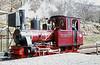 Brecon Mountain Railway Arn Jung 0-6-2WTT 'Graf Schwerin-Löwitz' at Pontsticill.