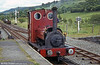 Bala Lake Railway Hunslet 0-4-0ST (779/1902) No. 3  'Holy War' at Llanwchllyn.