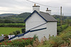 Ffridd Gate was a station on the Corris Railway, serving the hamlet of the same name near to where the Afon Dulas meets the Afon Dyfi. It survives as a private dwelling. 24th September 2017.