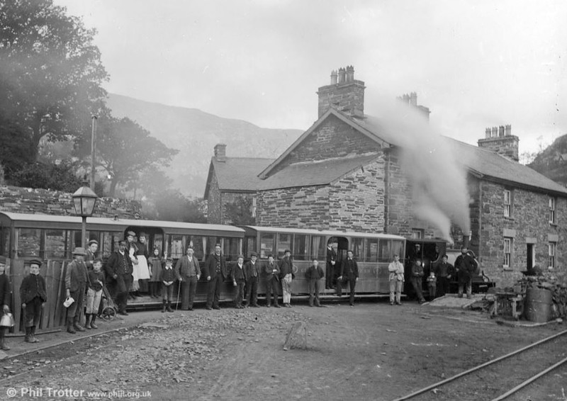 c.1885. (National Library of Wales)
