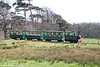 Margam Park Railway 0-4-0DH 'Margam Castle' approaches the Orangery Halt on 5th April 2009.