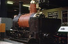 """Bellis & Seekings (Birmingham) 2' 8½"""" gauge 0-6-0WT 'Secundus' (no works number) of 1874 built for the Furzebrook Tramway of Pike Bros., Fayle & Co.'s claypits in Isle of Purbeck, Dorset. It was an unusual design with a marine firebox, outside Stephenson link motion, and a cow catcher. It was rebuilt by Stephen Lewin of Poole in 1880 and was fitted with a new boiler by Peckett & Sons of Bristol in 1935."""