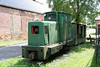 A second view of Ruston Hornsby 4wDM 398063 of 1956 at Kidwelly Tinplate Museum on 5th June 2010. The loco formerly worked at Cynheidre Colliery.