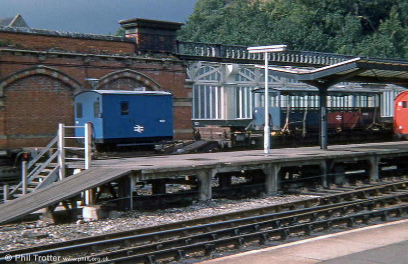 For several years towards the end of BR ownership, Vale of Rheidol rolling stock was maintained at Shrewsbury Station, as in this view taken on 17th September 1975.