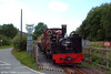 Vale of Rheidol 2-6-2T no.9 'Prince of Wales' approaches the level crossing at Capel Bangor with the 1545 Aberystwyth to Devil's Bridge on 3rd August 2005.