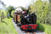 Vale of Rheidol GWR 2-6-2T no. 9 'Prince of Wales' approaches Nantyronen with the 1400 Aberystwyth to Devil's Bridge on 25th May 2013.
