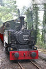 Talyllyn Railway 0-4-2T no.7 'Tom Rolt' at Brynglas with the 1510 Tywyn Wharf to Nant Gwernol on 9th September 2017.
