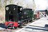 Kerr Stuart 0-6-2T 'Sgt. Murphy' ready to leave Henllan, TVR with the 1330 departure for Llandyfriog on 5th April 2008.