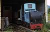 A Ruston 11/13 HP 4wDM loco, possibly works no. 189972 at the Bala Lake Railway.