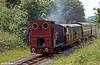 Bala Lake Railway Hunslet 0-4-0ST (779/1902) No. 3  'Holy War' between Bala and Llanwchllyn.