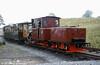 Brecon Mountain Railway Arn Jung 0-6-2WTT 'Graf Schwerin-Löwitz' at Pant.