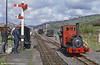 Bala Lake Railway Hunslet (822/1903)  0-4-0ST 'Maid Marian'  at Llanwchllyn in June 1986.