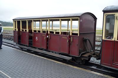 Coach 37 at Porthmadog on The Ffestiniog Railway  22/08/15.