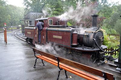 0-4-4-0T No10 'Merddin Emrys' on The Ffestiniog Railway  22/08/15.