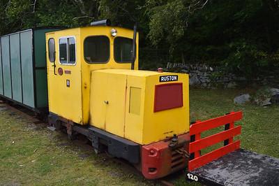 4wDM No19 on The Llanberis Lake Railway  22/08/15.
