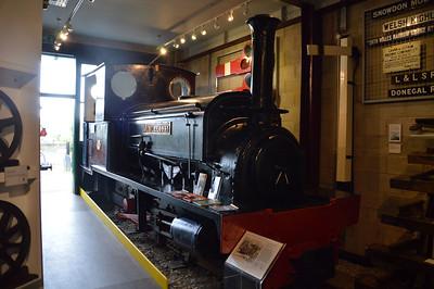 0-4-0ST 'Jubilee 1897' in the Tallyn Museum  22/08/15.