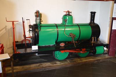 0-4-0WT 721 in the Tallyn Museum  22/08/15.